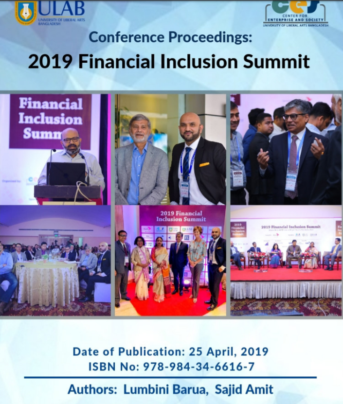2019 Financial Inclusion Summit by Center for Enterprise and Society ULAB